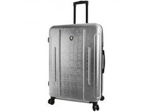 Cestovní kufr MIA TORO M1239/3-L - stříbrná  + PowerBanka nebo pouzdro zdarma