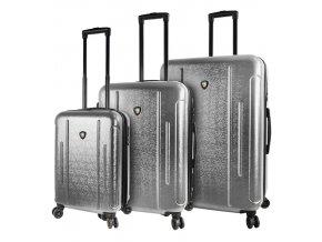 Sada cestovních kufrů MIA TORO M1239/3 - stříbrná