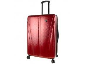 Cestovní kufr MIA TORO M1238/3-L - vínová  + PowerBanka nebo pouzdro zdarma