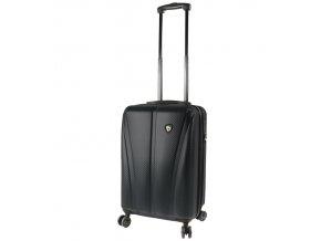 Kabinové zavazadlo MIA TORO M1238/3-S - černá  + PowerBanka nebo pouzdro zdarma