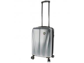 Kabinové zavazadlo MIA TORO M1238/3-S - stříbrná  + PowerBanka nebo pouzdro zdarma