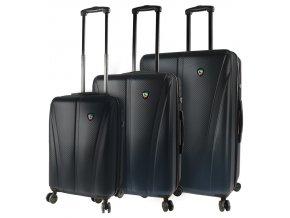 Sada cestovních kufrů MIA TORO M1238/3 - černá