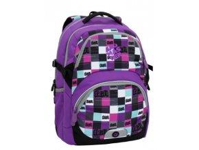 Bagmaster THEORY 6 A VIOLET Dívčí školní batoh pro třetí třídu