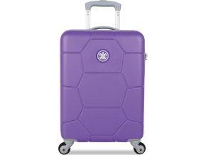 Kabinové zavazadlo SUITSUIT® TR-1230/3-S ABS Caretta Purple Heart