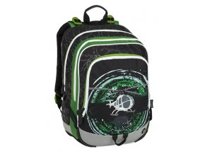 Bagmaster ALFA 9 D BLACK/GREEN/GRAY
