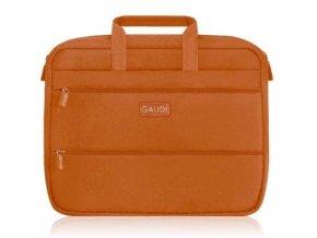 "GAUDI PC SLEEVE SLIM 15,4"" oranžová - obal na notebook"