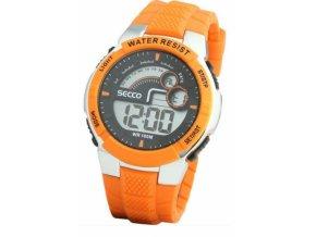 SECCO S DJN-002 - pánské digitální hodinky