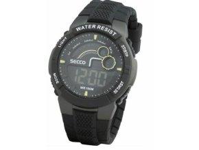 SECCO S DJN-008 - pánské digitální hodinky