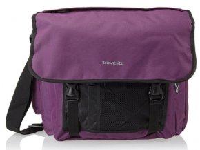 Travelite Basics Messenger Bag Aubergine
