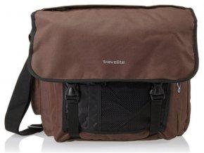 Travelite Basics Messenger Bag Brown