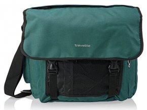 Travelite Basics Messenger Bag Green
