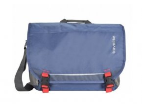 Travelite Basics Messenger Blue