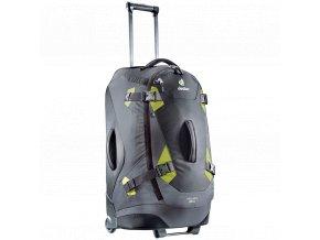Deuter Helion 80 černá/zelená - cestovní taška na kolečkách  + PowerBanka nebo pouzdro zdarma