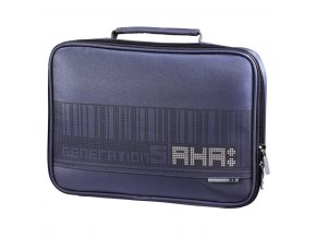 "AHA netbook obal, 26 cm (10,2""), pixel, ocelově modrá"