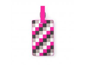 Heys_Luggage_Tag_Pink_Check