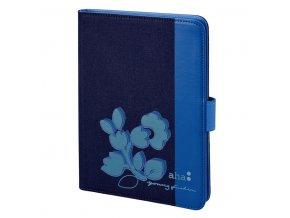 """aha: Narcissus obal pro tablet do 25,6 cm (10,1""""), modrý"""