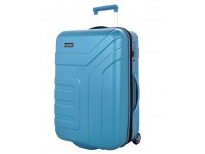 Travelite Vector 2w M,L Turquoise – sada 2 kufrů  + PowerBanka nebo pouzdro zdarma