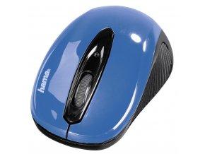"""Hama optická myš """"AM-7300"""", černá/modrá"""