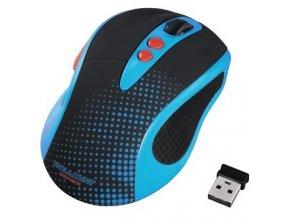 Hama optická bezdrátová myš Knallbunt 2.0, modrá