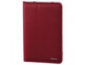 "Hama Strap Portfolio for tablets up to 25.6 cm (10.1""), red"