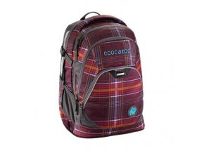 Školní batoh Coocazoo EvverClevver2, Walk The Line Purple  + PowerBanka nebo pouzdro zdarma