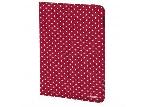 """Hama Polka Dot pouzdro na tablet, do 25,6 cm (10,1""""), červené"""