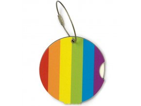 Jmenovka na kufr Addatag - Rainbow