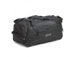 Cestovní taška ROCK HA-0044 - černá   + Pouzdro zdarma