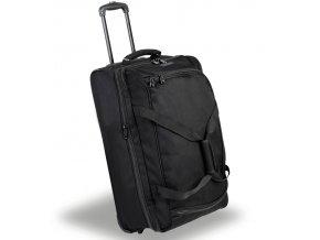 Cestovní taška na kolečkách MEMBER'S TT-0030 - černá   + PowerBanka nebo pouzdro zdarma