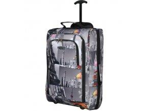 Kabinové zavazadlo FRENZY T-825/1-55 - šedá