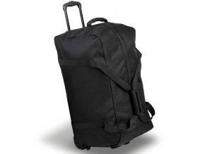 Cestovní taška na kolečkách MEMBER'S TT-0035 - černá   + Pouzdro zdarma