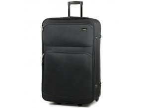 Cestovní kufr MEMBER'S TR-0135/4-70 - černá  + Pouzdro zdarma