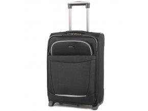 Kabinové zavazadlo MEMBER'S TR-0134/4-50 - černá   + Pouzdro zdarma