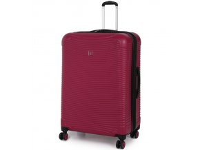 Cestovní kufr IT Luggage HORIZON TR-1500/3-L DUR - vínová  + PowerBanka nebo pouzdro zdarma