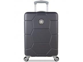 Kabinové zavazadlo SUITSUIT® TR-1226/3-S ABS Caretta Cool Gray  + Pouzdro zdarma