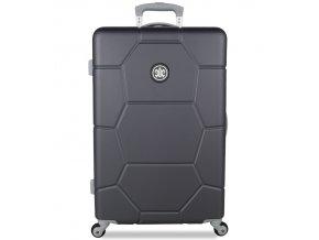 Cestovní kufr SUITSUIT® TR-1226/3-M ABS Caretta Cool Gray  + PowerBanka nebo pouzdro zdarma