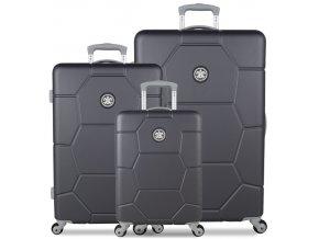 Sada cestovních kufrů SUITSUIT® TR-1226/3 ABS Caretta Cool Gray  + PowerBanka nebo pouzdro zdarma