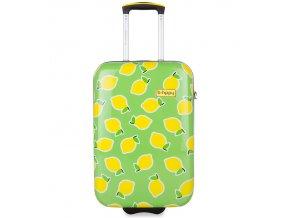 Kabinové zavazadlo B.HPPY BH-1600/3-S - Easy Peasy Lemon Squeezy  + PowerBanka nebo pouzdro zdarma