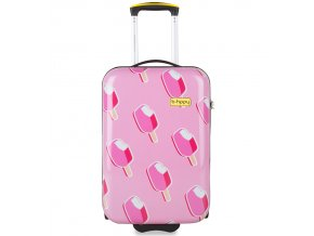 Kabinové zavazadlo B.HPPY BH-1602/3-S - Ice on Holiday  + PowerBanka nebo pouzdro zdarma