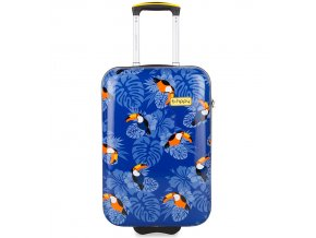 Kabinové zavazadlo B.HPPY BH-1604/3-S - I can Toucan  + PowerBanka nebo pouzdro zdarma