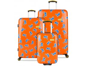 Sada cestovních kufrů B.HPPY BH-1605/3 - GoGoNuts  + PowerBanka nebo pouzdro zdarma