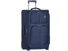 Cestovní kufr AEROLITE T-9613/3-M - tmavě modrá   + Pouzdro zdarma