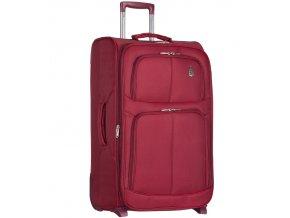 Cestovní kufr AEROLITE T-9613/3-M - vínová   + Pouzdro zdarma