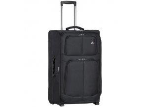 Kabinové zavazadlo AEROLITE T-9613/3-S - černá   + Pouzdro zdarma