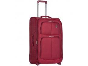 Kabinové zavazadlo AEROLITE T-9613/3-S - vínová  + Pouzdro zdarma