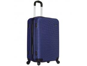 Cestovní kufr SIROCCO T-1039/3-60 ABS - modrá  + Pouzdro zdarma