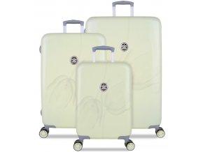Sada cestovních kufrů SUITSUIT® TR-1223/3 - French Romance  + PowerBanka nebo pouzdro zdarma
