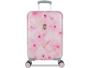 Kabinové zavazadlo SUITSUIT® TR-1224/3-S - Sakura Blossom  + PowerBanka nebo pouzdro zdarma