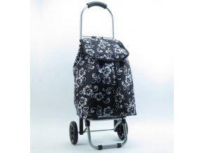 Nákupní taška na kolečkách METRO ST-005 - černá