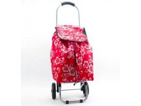 Nákupní taška na kolečkách METRO ST-005 - červená